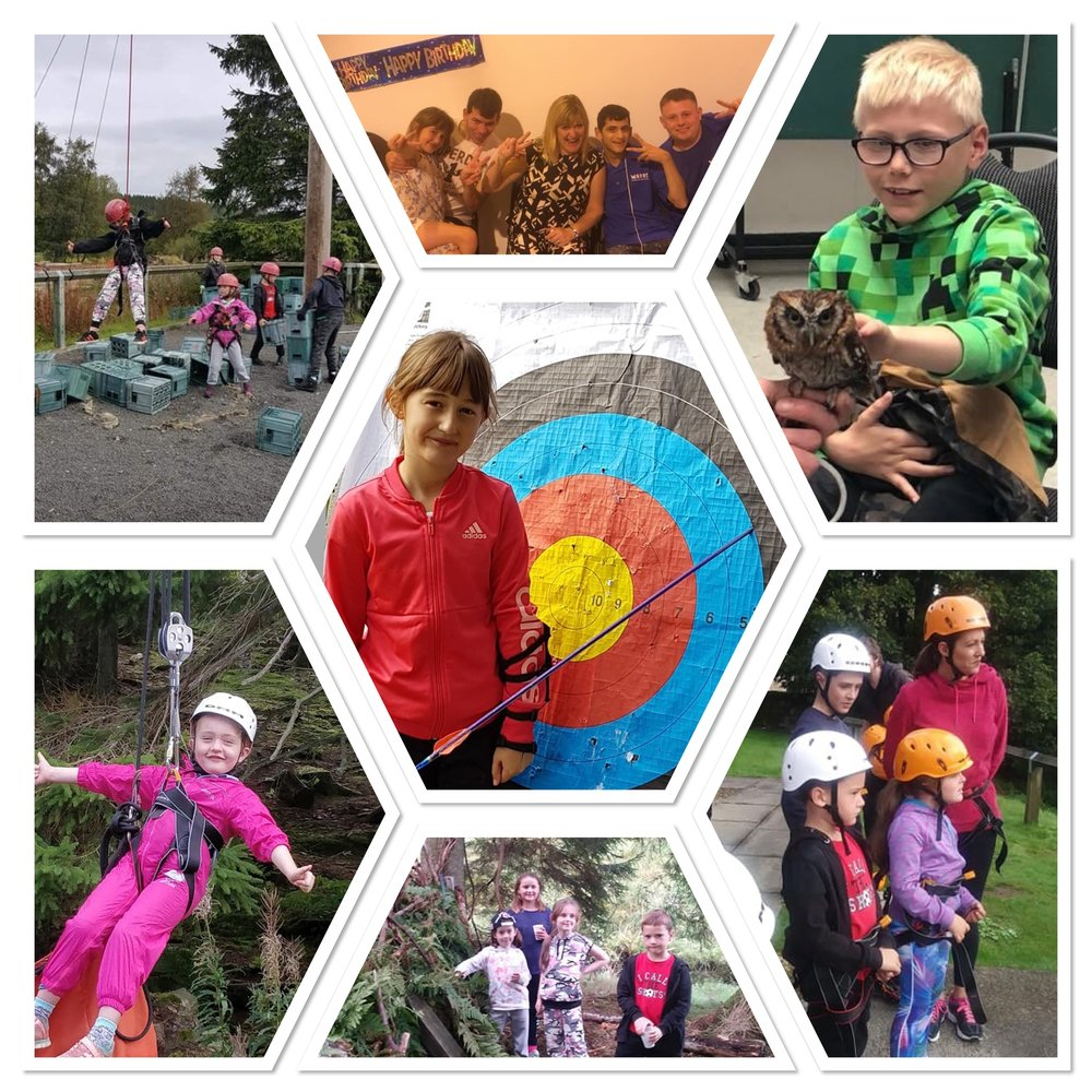 In September 2018 - Trefoil provided funding of £7,500 to WAVES Additional Needs Support Group to take 90 members on a Residential Weekend at the Calvert Trust in Kielder.