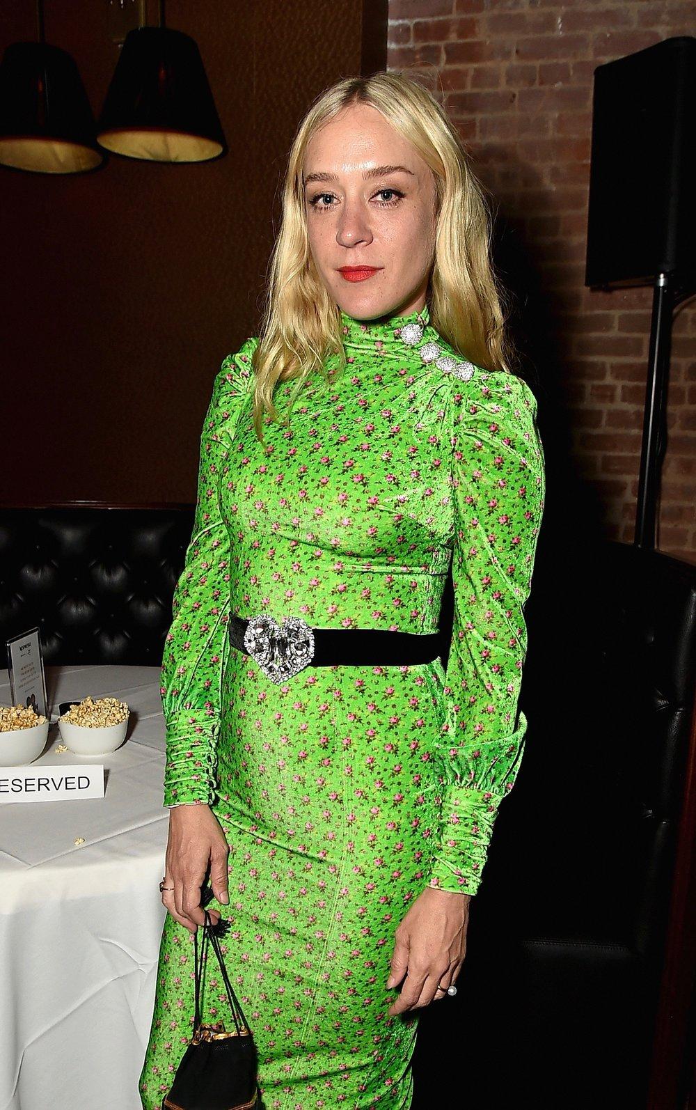 Chloe Sevigny's green number