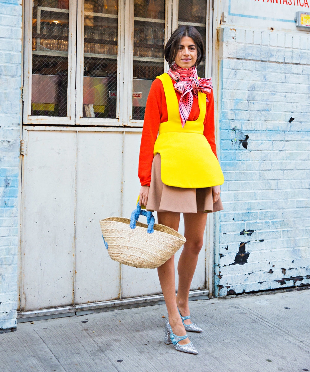 Leandra Medine, self procalimed Man Repeller