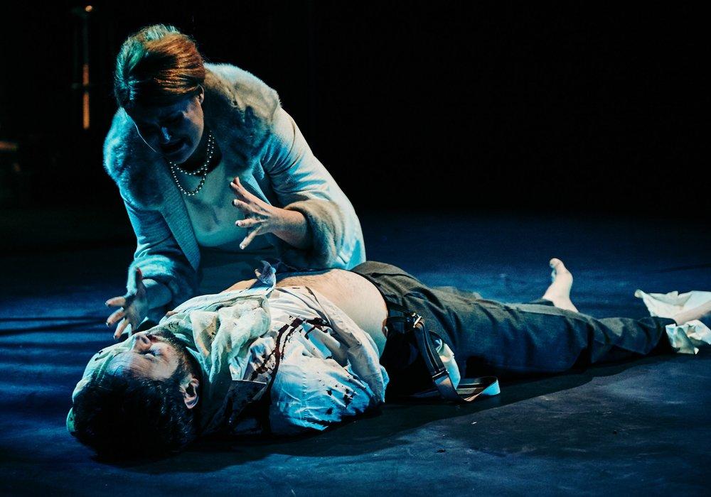 Mari Wyn Williams as Tosca