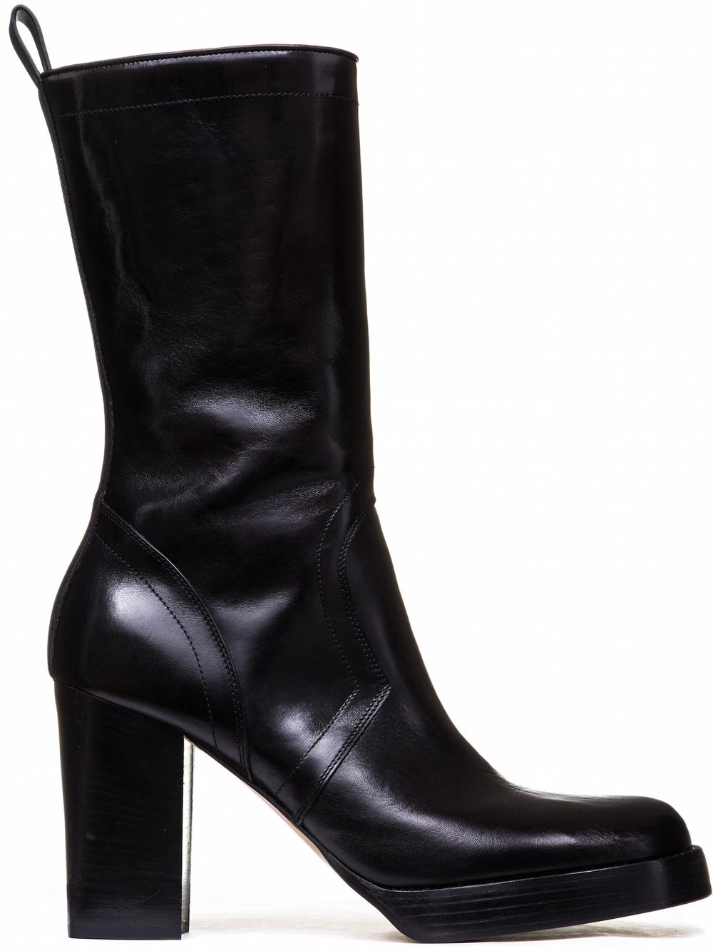 Rick Owens 'Glitter Chunky' boots