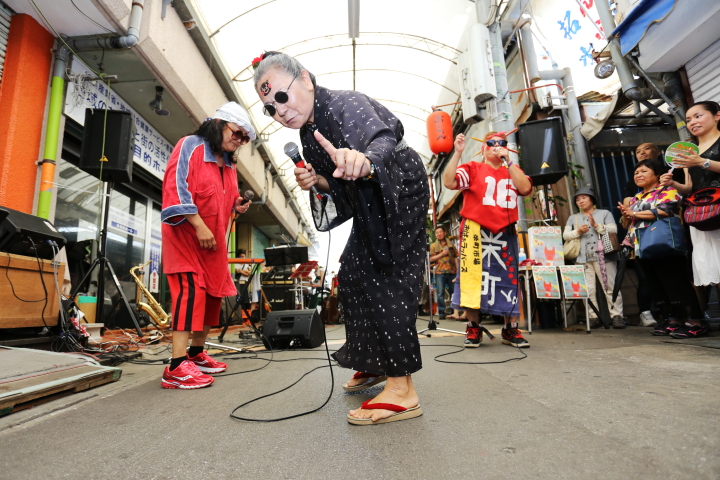 Okinawan 'Rapper Ladies' making the most out their extra years.