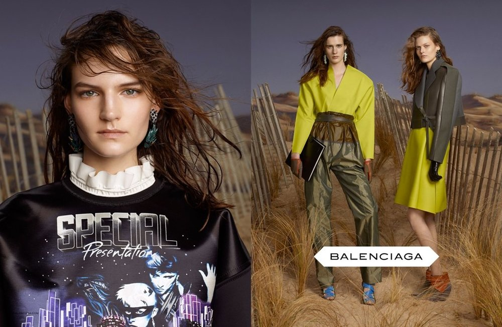 Balenciaga's space inspired AW12 collection