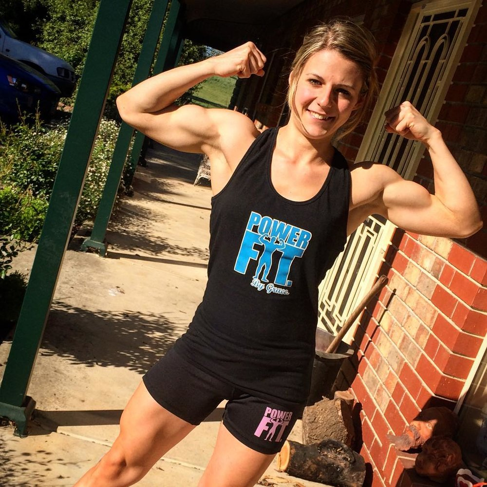 Sara Pearson - Body builder