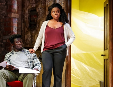 Moferoluwa Akande and Cudjoe Asare as  Lena  and  Kevin