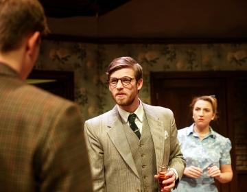 Finnbar Stewart-Hayman and Holly Carpenter as  Karl  and  Bev