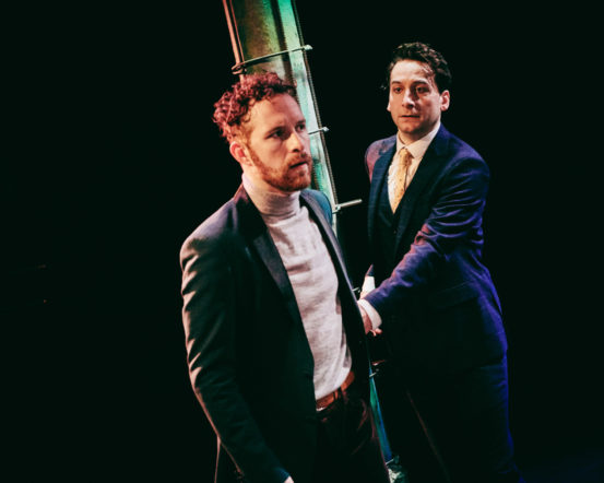 ' Joseph Tweedale  and  Dan Wheeler  were easily the best thing about the production '