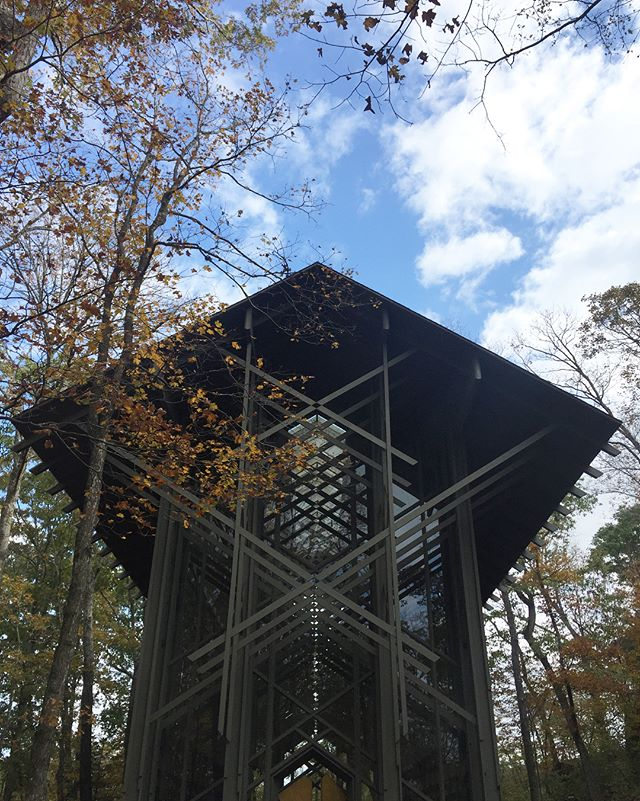 CBA partner Peter Boudreaux traveled to Eureka Springs this weekend and had a chance to spend a morning at Fay Jones' Thorncrown Chapel. An absolute masterpiece by one of the 20th century's best architects.  #cbatravels #architecture #design #thorncrownchapel #arkansas