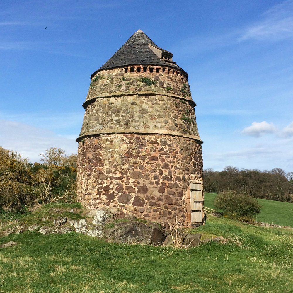 The most stunning dovecot I've ever seen