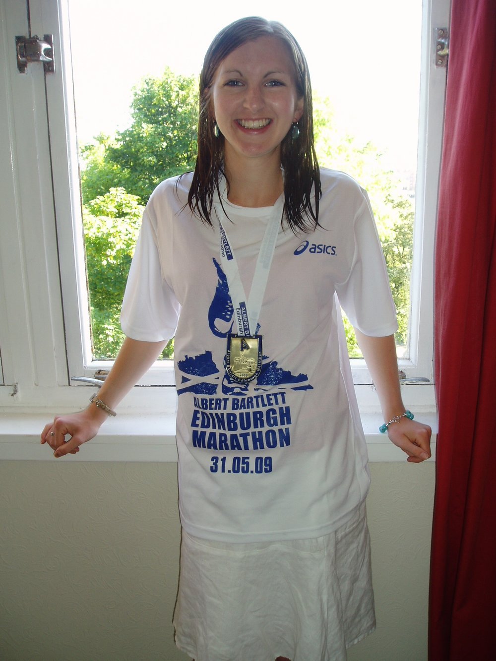 I was ecstatic with my first marathon in 2009, I've not looked back since!