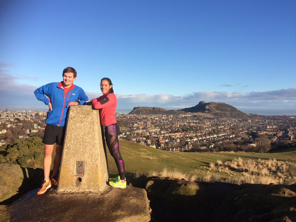 Be on top of the world with a romantic running tour