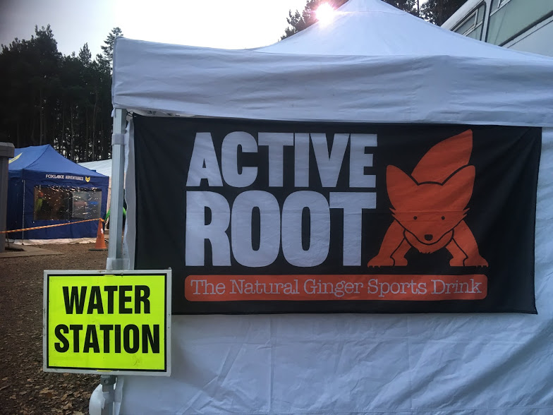 The life saving pit stop for the Nocturnal Ultra - thanks Active Root!