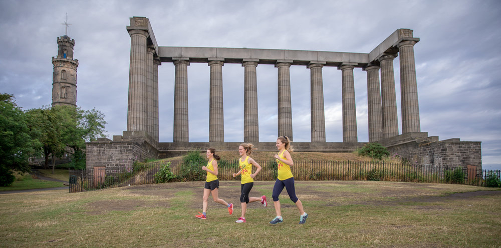 Come and explore Edinburgh on the run on our fun and friendly running tours