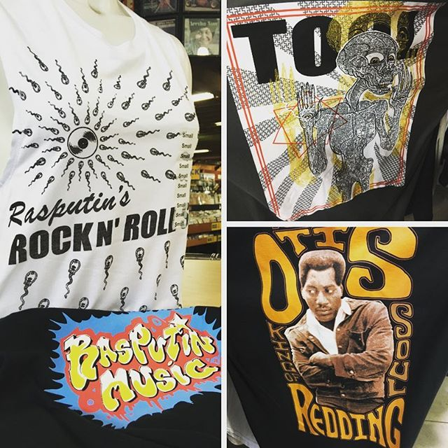 Some things will never go out of style. #bandtees #berkeley #rasputinmusic #telegraphavenue