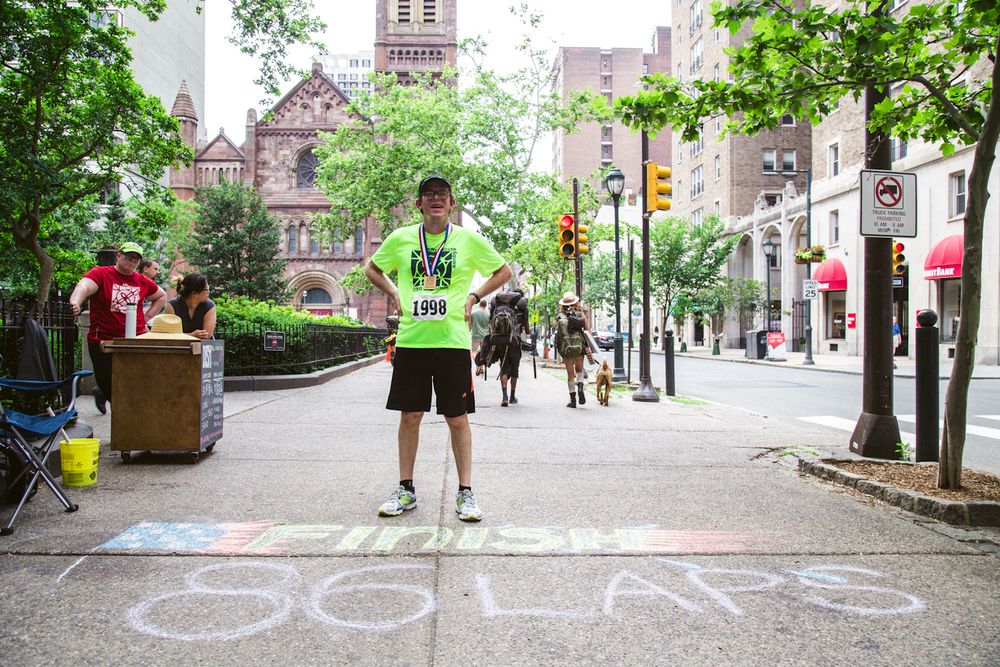 "Peter Morgan, ""Rittenhouse Square Ultra Marathon"""