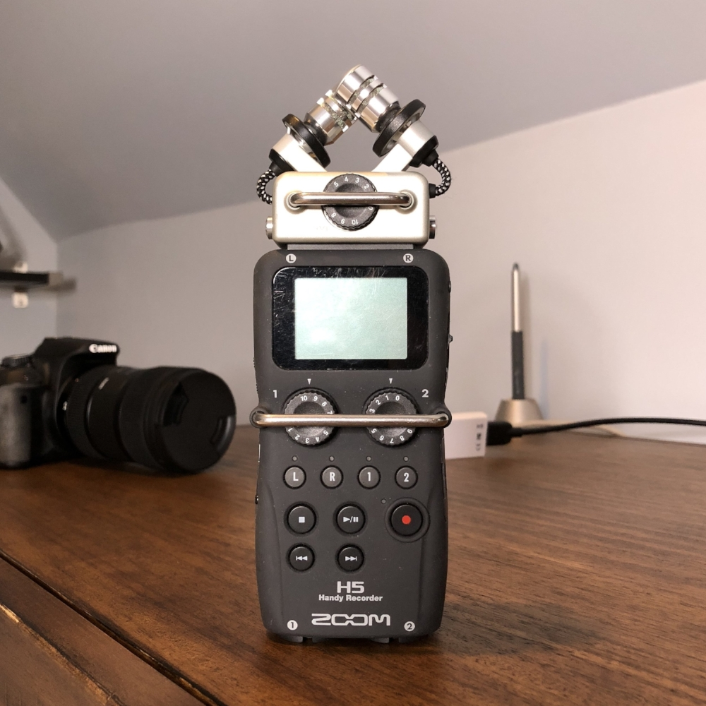 Zoom H5 audio recorder