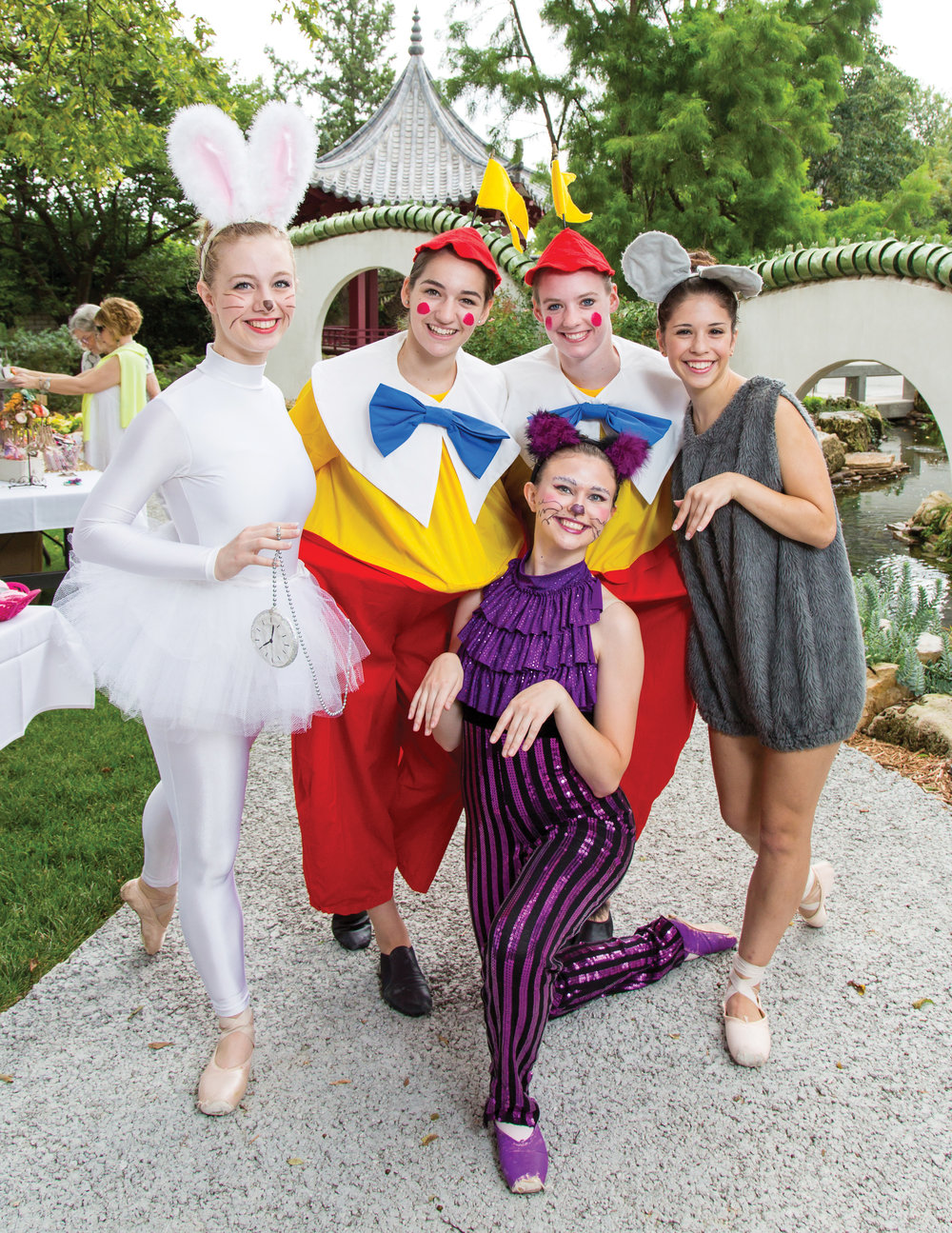 "Ballet Wichita performed a rendition of ""Alice in Wonderland"" durng Tea & Tutus last summer at Botanica. Family-friendly attractions, like Downing Children's Garden, immediately doubled Botanica's membership base and tripled its annual visitors. Photo by Whitney Pulen"