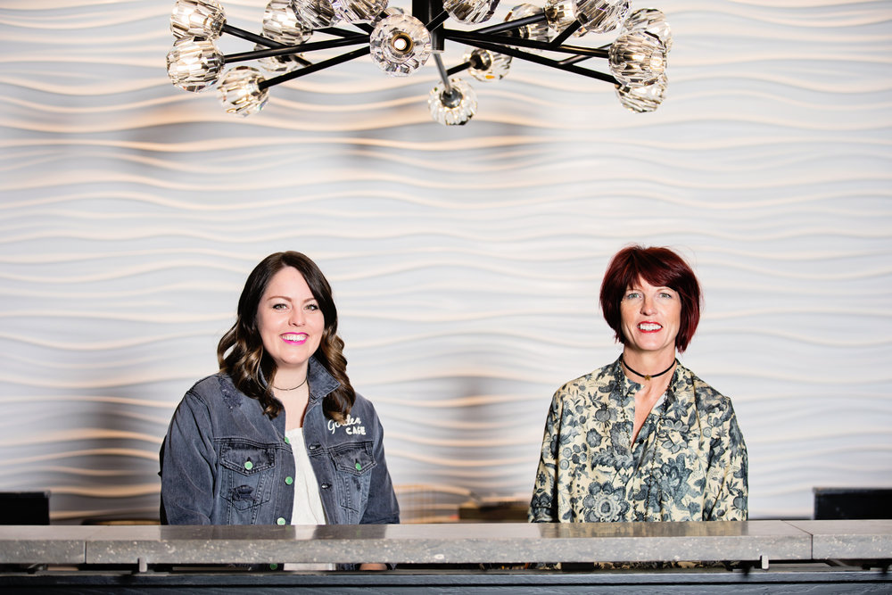 Camille Ogden, left, and Julie Lair are the new owners of Lyndon's in Bradley Fair, having purchased the boutique from its founder Donna Preston.