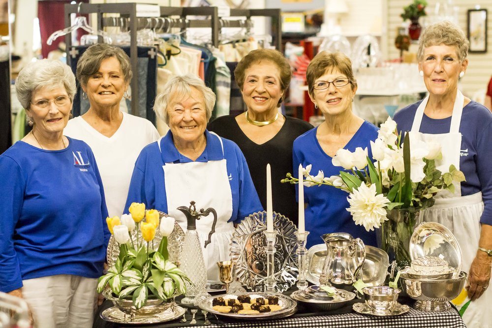 From left, Donna Wise, Karen Foley, Jan Chang, Bev Farha, Lola Mote and Helene Longhofer.