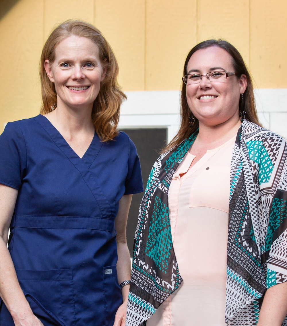Dr. Christen Skaer and Christen Sampamurthy
