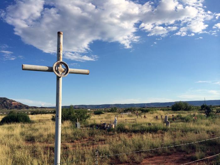graveyard. tucumcari, new mexico