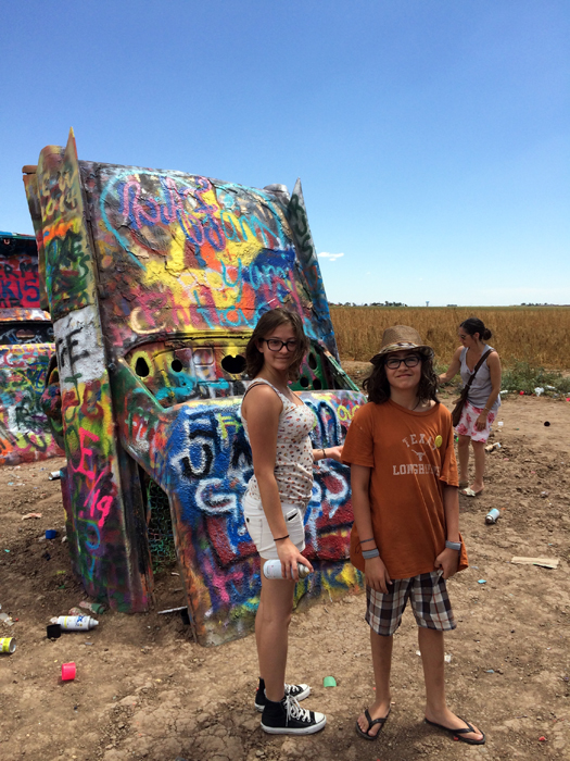 route 66. cadillac ranch.