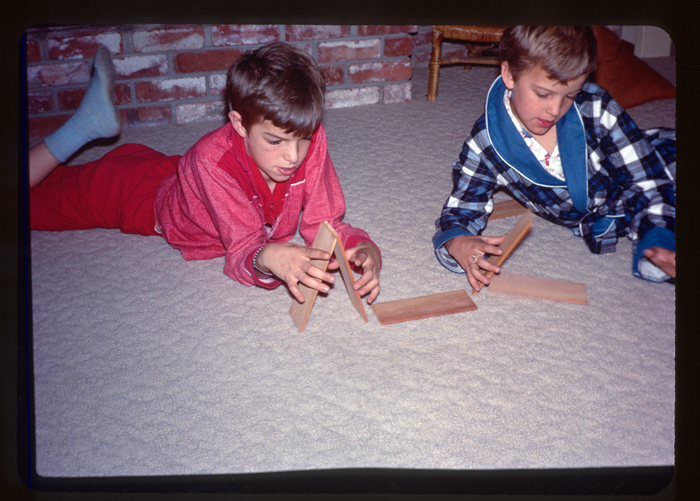 Mike, Me, playing with blocks-1967 or so_adj01-sm.jpg