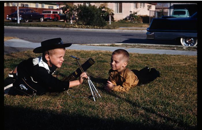 Rob and friend with telescope-1960_adj01-sm.jpg