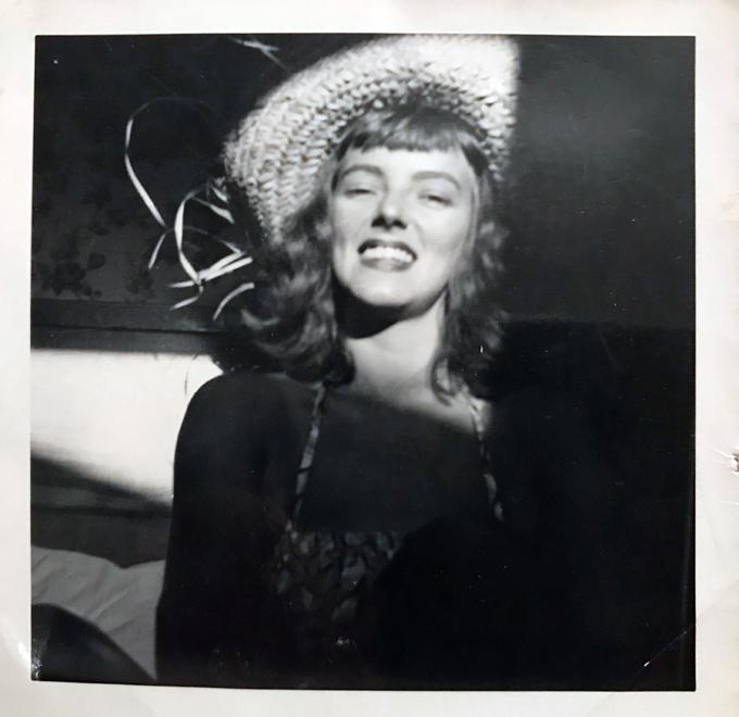 mom, circa 1950