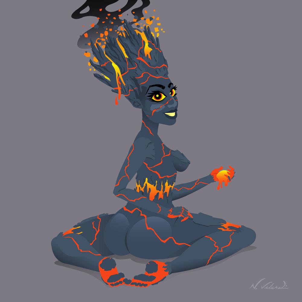 Lady Lava