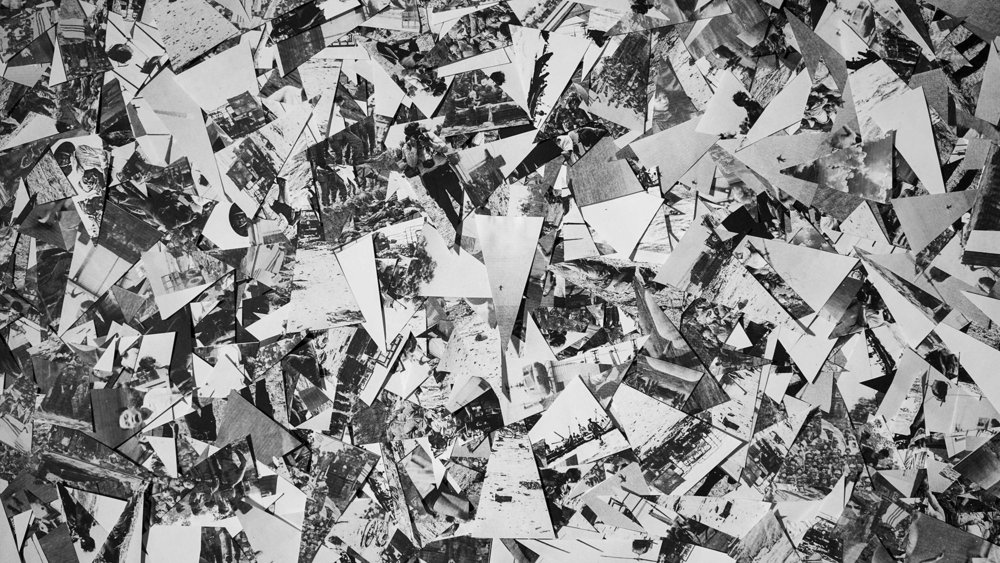 paper triangles floor collage bw.jpg