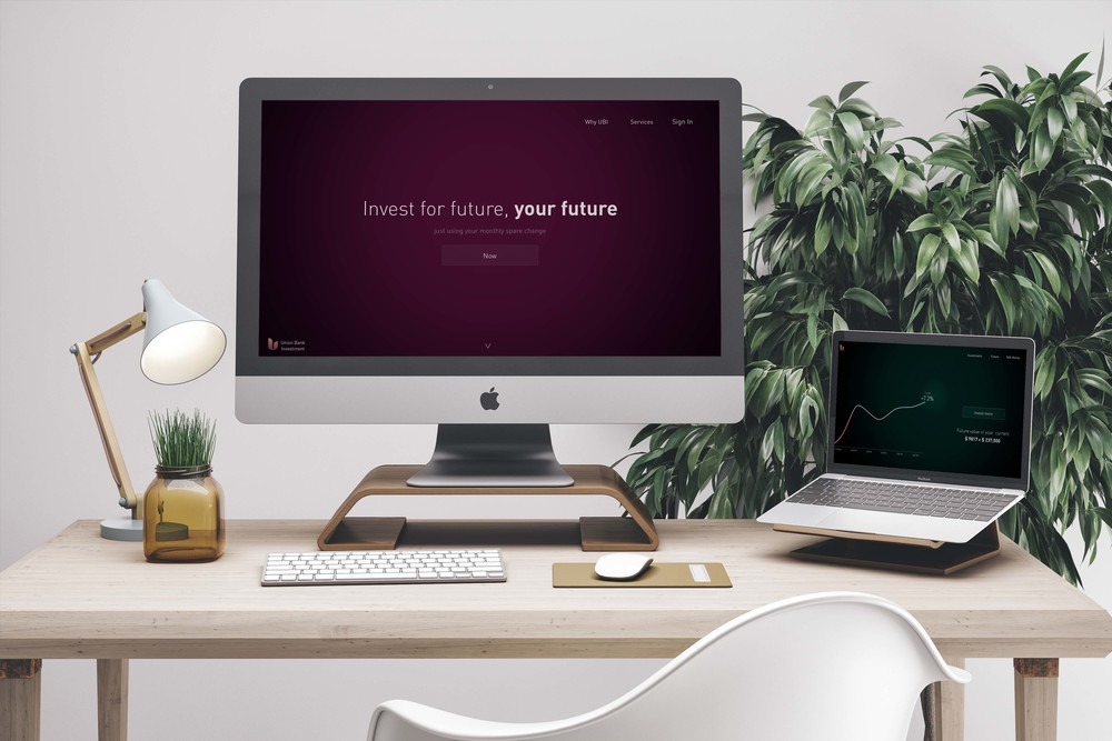 Investment App for Millennials   Skills: UX/UI Design, Prototyping (Coding Coffeescript on Framer JS), User Testing