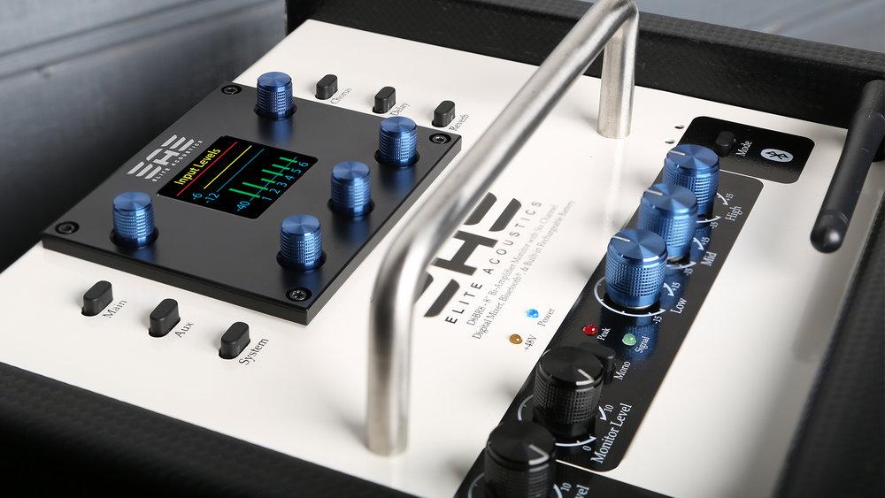 Elite Acoustics Battery Powered Studio Monitors/ Live Amplifiers