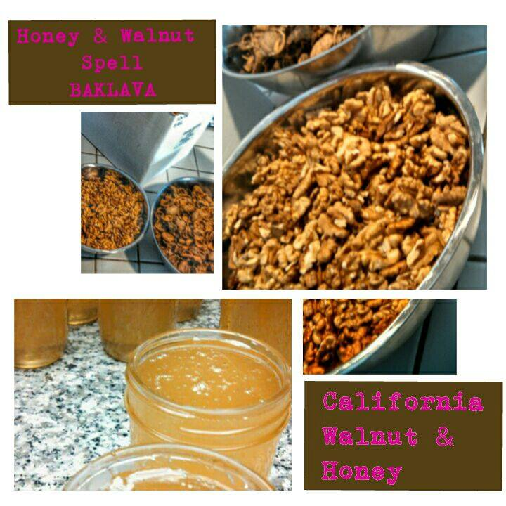 Free walnut and honey