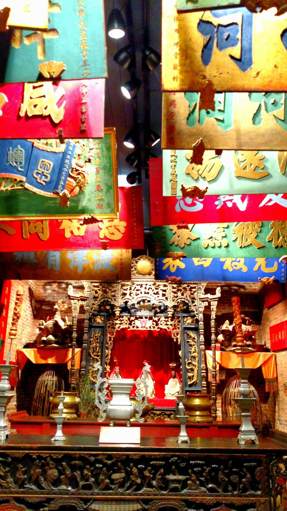 Oroville Chinese Temple Museum. 2016