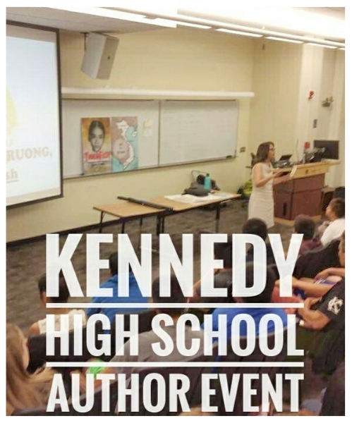 Author Event at John F. Kennedy High School. Sacramento, CA