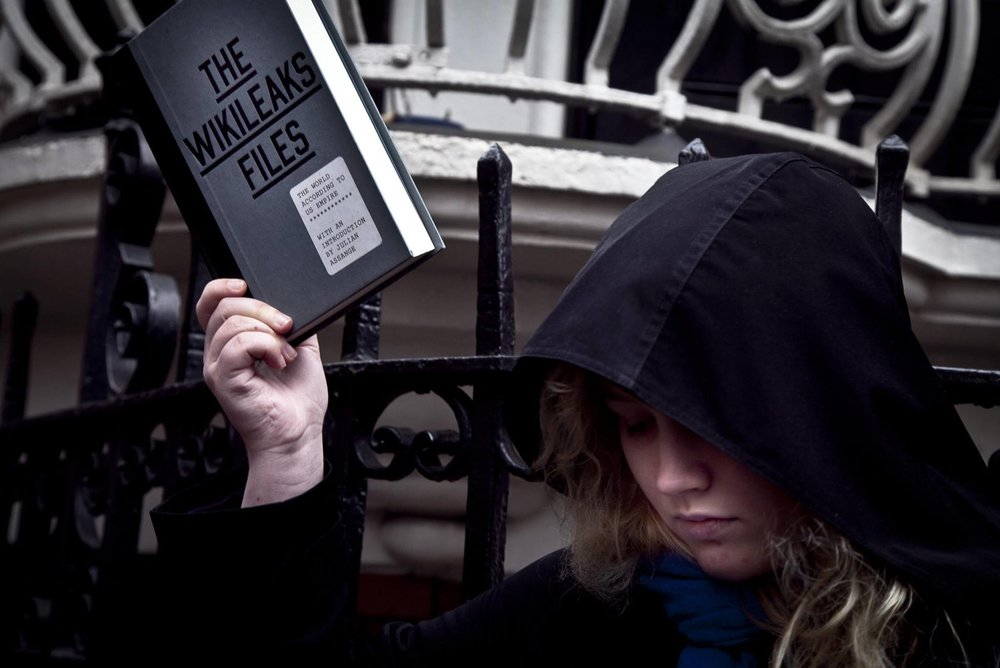 Michela Carmazzi,  Assange , 2017, digital image