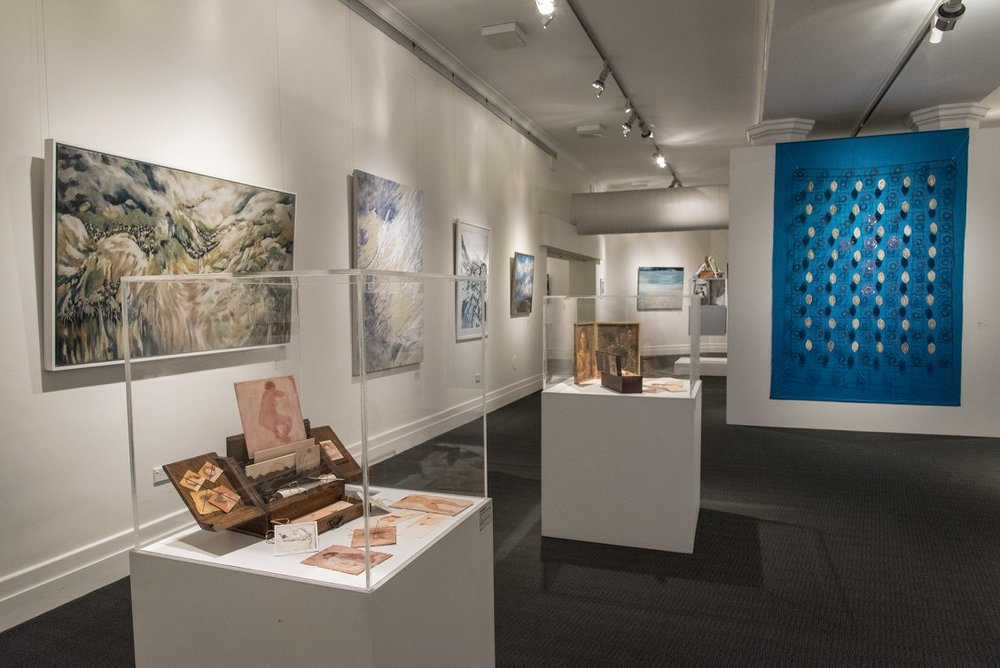 Exhibition install view