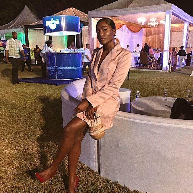Last night for Copperwood at The Jamaica Observer Food Awards!  Calabash Bag, Dress: @tiaclothesgirl