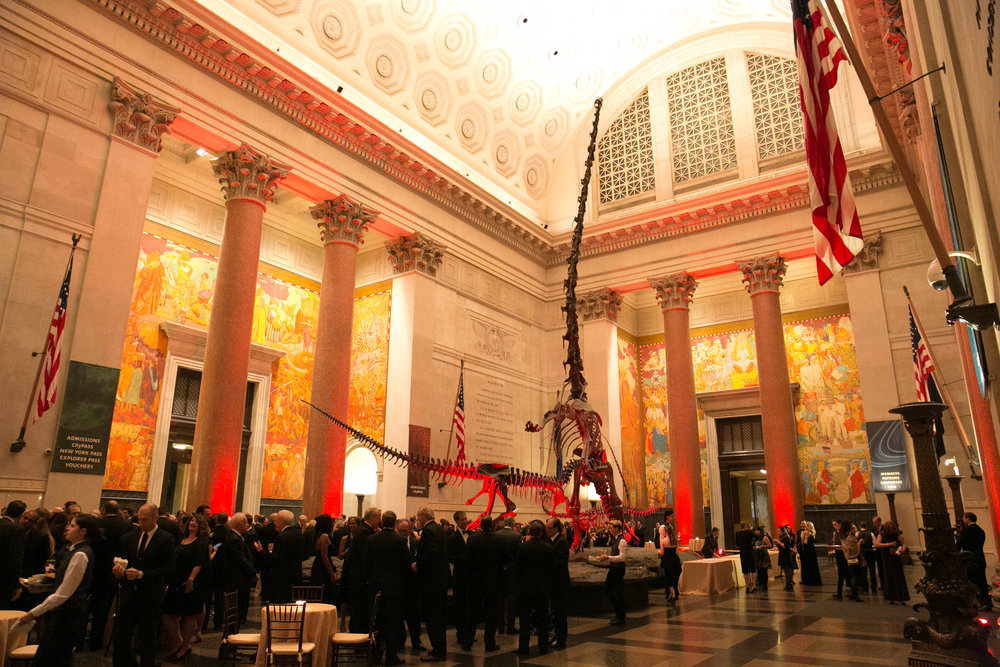 CPR 2016 non-profit gala at AMERICAN museum of natural history -