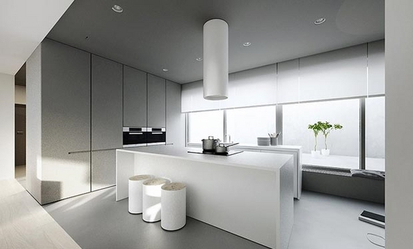 minimalist interior design ideas white kitchen furniturejpg - Minimalist Interior Design