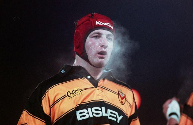 Goughy in his Newport RFC days