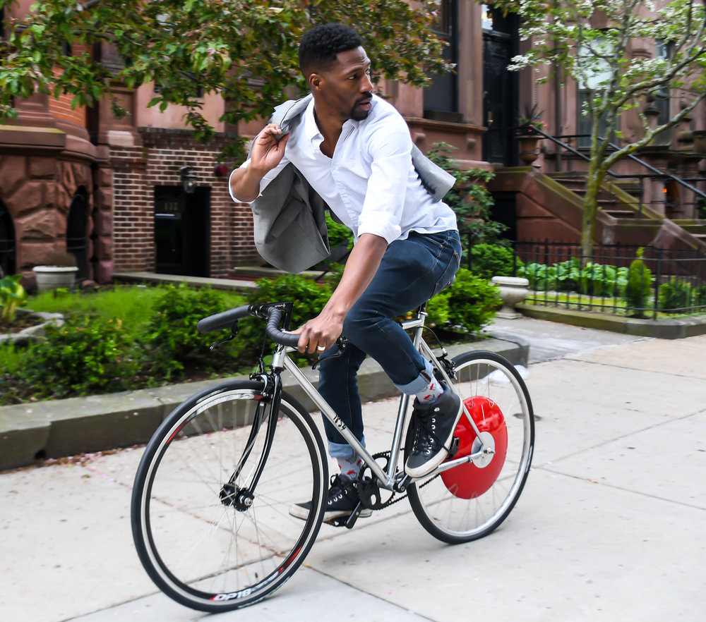 Brandale D. Randolph, Founder & CEO of the 1854 Cycling Company