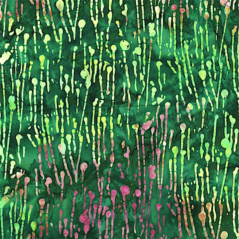 2808-007 PAINT DRIPS - MEADOW