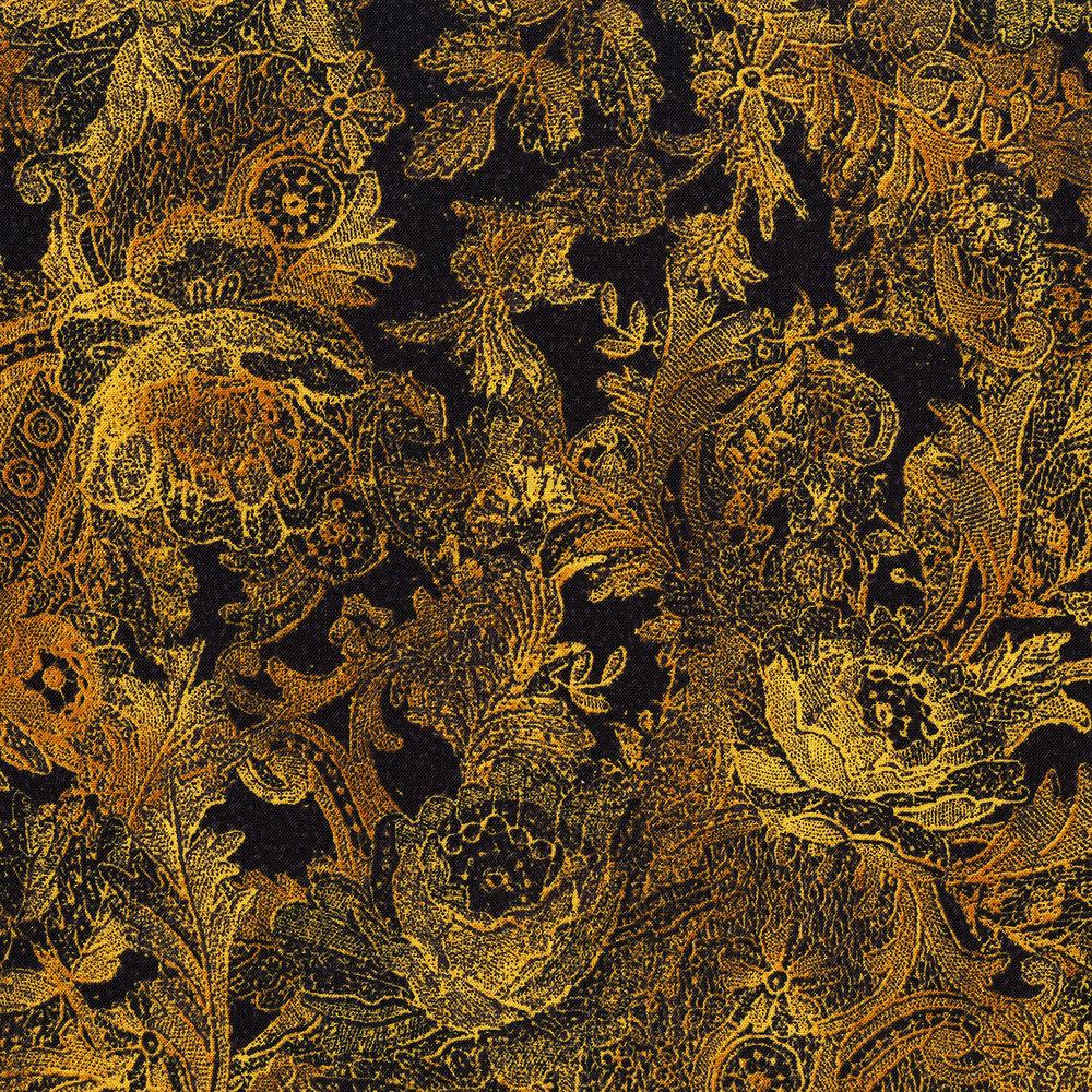 3011-002 PAISLEY-GOLD