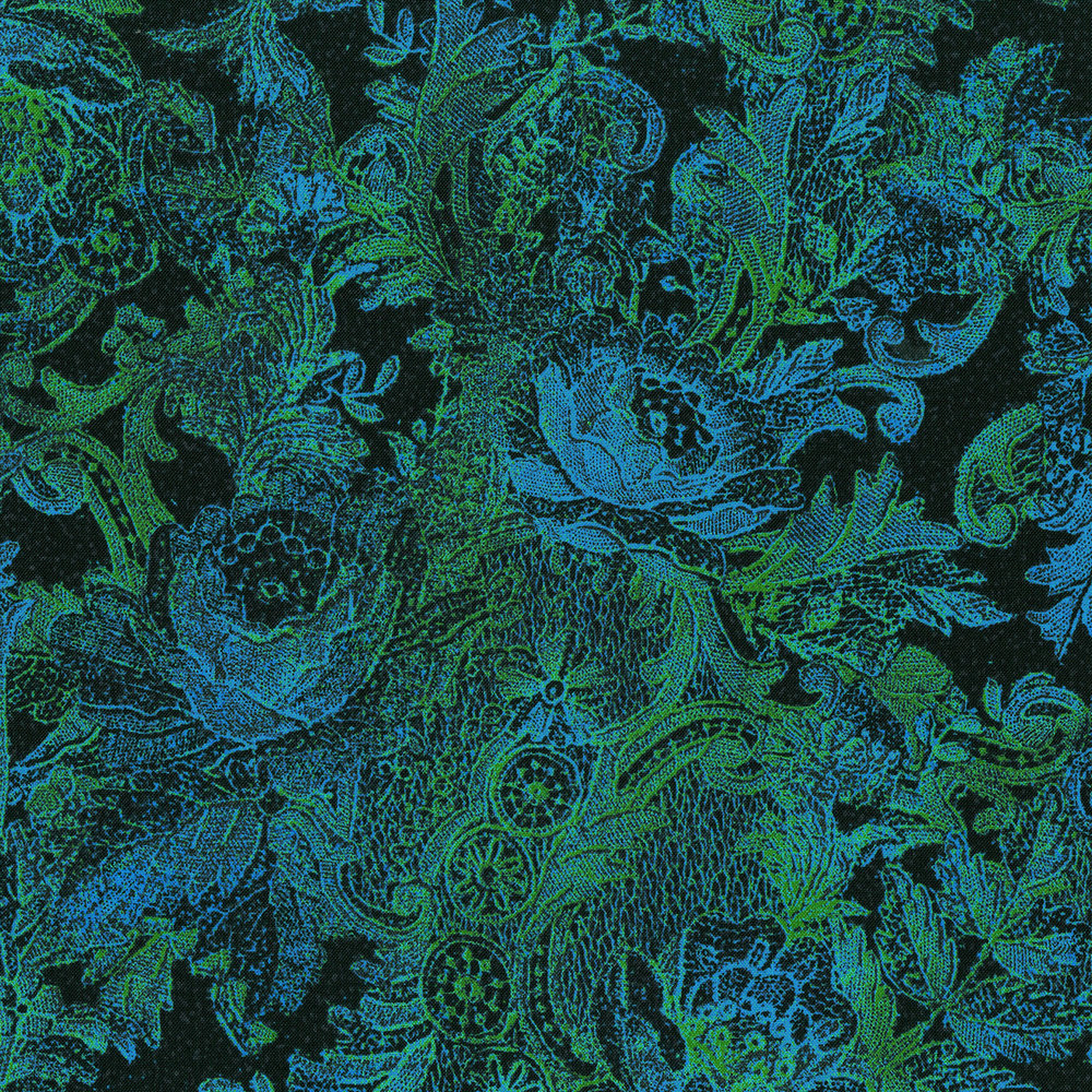 3011-003 PAISLEY-TURQUOISE