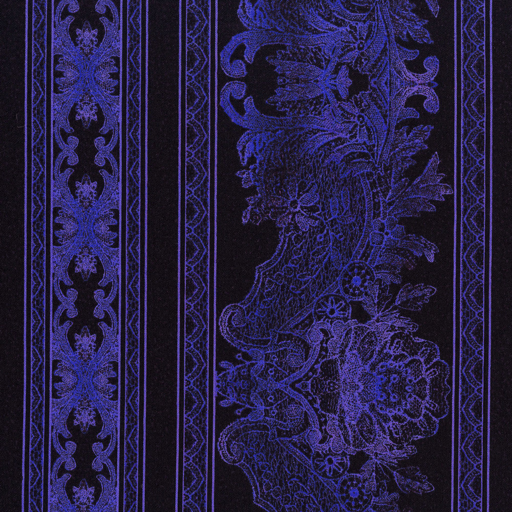 3012-005 LACE BORDER-PERIWINKLE
