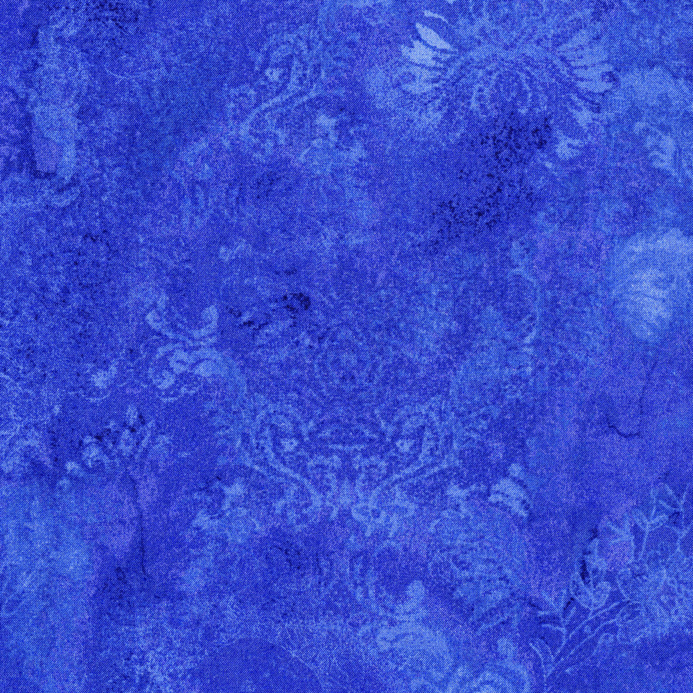 3015-004 GHOST FLOWER-BLUE