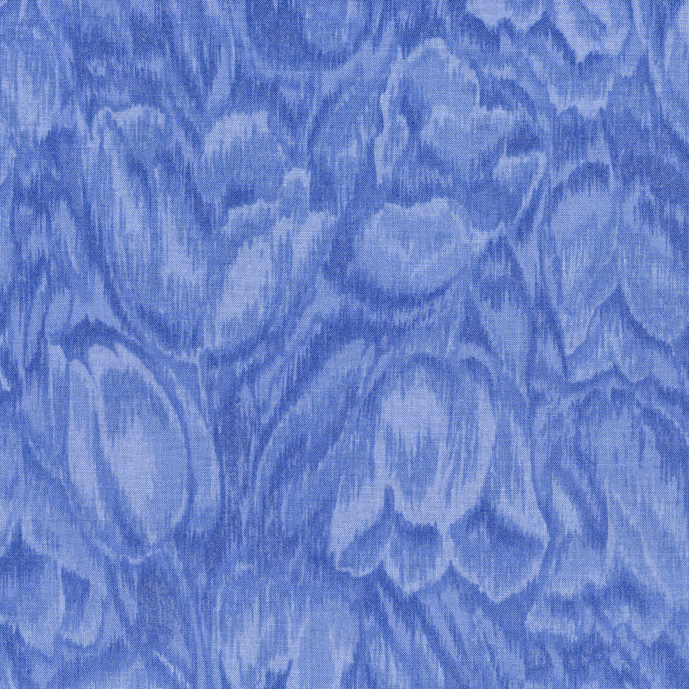 3016-005 TULIPS-BLUE