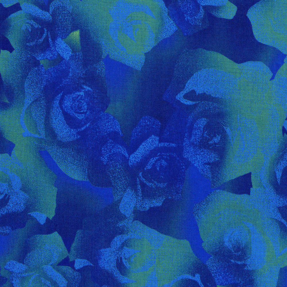 3017-003 TEXTURED ROSE-BLUE